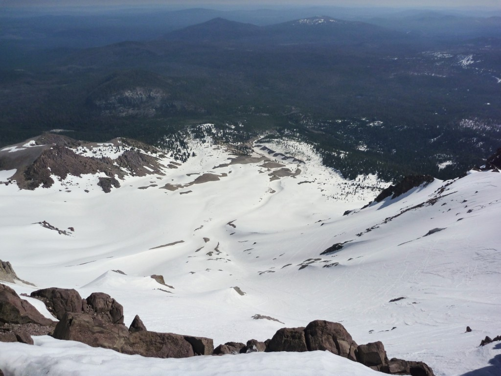 NE Face of Mt Lassen