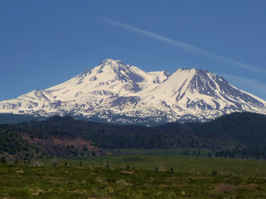 North side of Shasta and Shastina